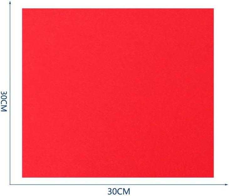 SUPVOX 40 Pcs Assorted Color Felt Fabric Sheets DIY Polyester Soft Felt Fabric Squares Sheets Non-Woven Piece Cloth Sheet 40 Assorted Color, 15x15cm