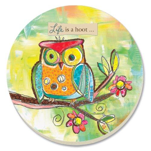 CounterArt Decorative Absorbent Coasters Lifes