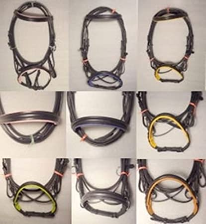 Nirmal brothers Genuine Leather Cross Over Bitless Bridle with Reins LBB- 03 Nirmal bros