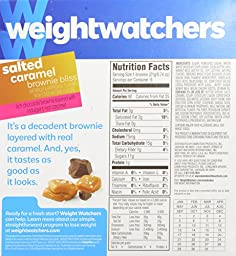 Weight Watchers Brownie Bliss Mini Brownies, Salted Caramel