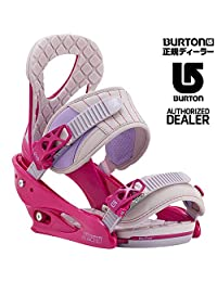 Burton Stiletto Snowboard Bindings Women's Pink/Gray S
