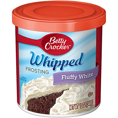 Betty Crocker Frosting Fluffy White Whip Icing, 12 (Fluffy White Frosting)