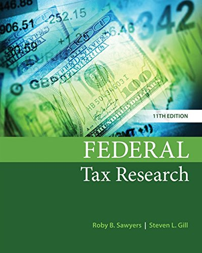 Federal Tax Research (Federal Level)