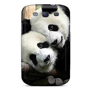 High Quality EOVEe Panda In Love Skin Case Cover Specially Designed For Galaxy - S3