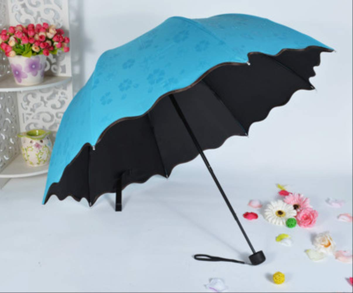 LZBDKM Paraguas Nuevos Paraguas Soleado Y Lluvioso para Mujeres ...