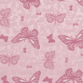 Rosa Basis mit Schmetterlingen in dunklem Pink Notch Krawatte aus Seide f/ür Herren