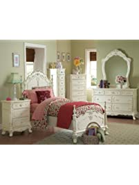 Cinderella 4 PC Twin Bedroom ...