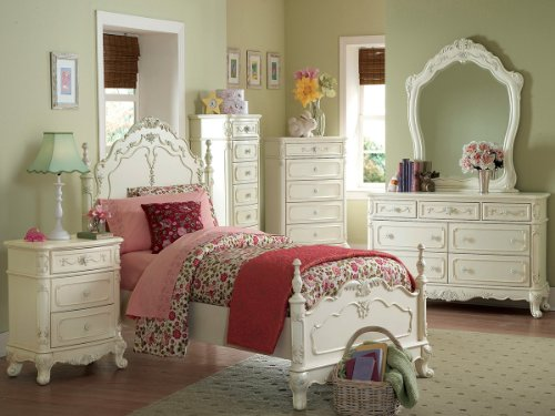 Cinderella Mirror by Home Elegance in Off-White by Home Elegance (Image #1)