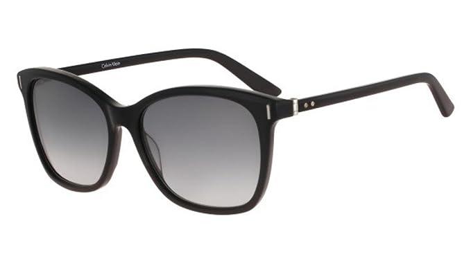 05844bab61 Calvin Klein CK8514S 29271 Black Modified Rectangle Sunglasses at ...