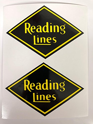 2 Reading Lines Decals by SBDdecals.com