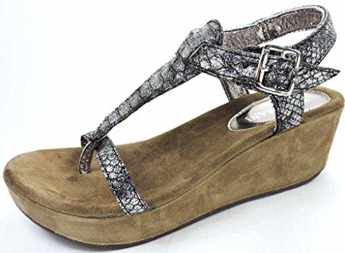Lazamani Women's 75.375 pewter Fashion Sandals Various WDtseE