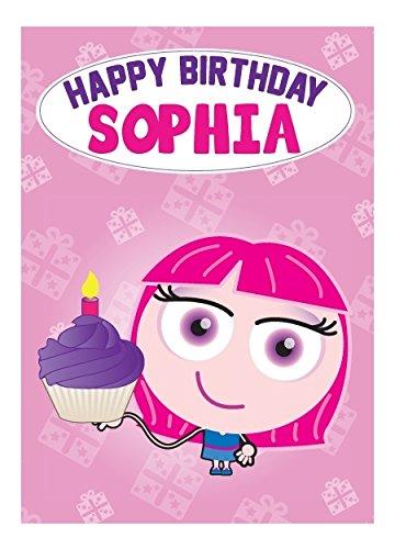 Sophia Biglietto Di Auguri Per Compleanno Amazonit Casa E Cucina