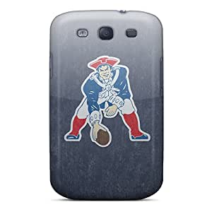 Snap-on New England Patriots Case Cover Skin Compatible With Galaxy S3