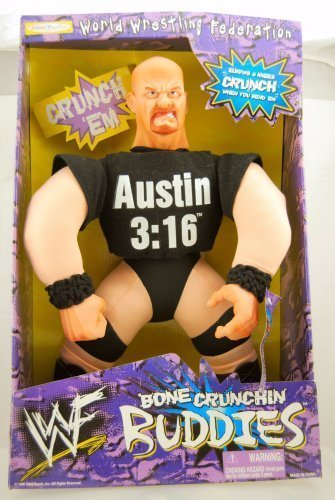 WWF Bone Crushing Buddies Stone Cold Steve Austin by Jakks Pacific 1998