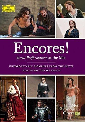 DVD : Metropolitan Opera - Encores Great Performances at the Met (DVD)