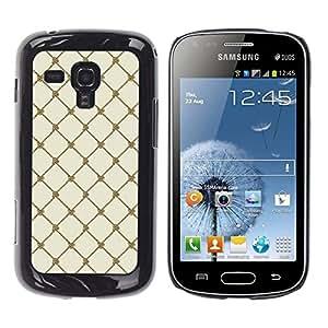 TECHCASE**Cubierta de la caja de protección la piel dura para el ** Samsung Galaxy S Duos S7562 ** Wallpaper Sea Sailing Rope Knot String