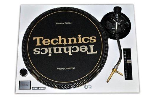 Technics White Face Plate for Technics SL-1200 / SL-1210 MK2