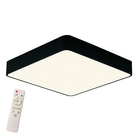 Plafón de luz regulable de 48 W, diseño artístico, lámpara Led de techo diámetro 500 x 60 mm, moderna y creativa para salón, dormitorio, cocina, ...