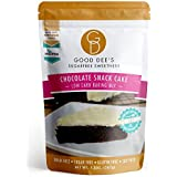 Good Dee's Chocolate Snack Cake Mix - Low-carb, Sugar-free, Grain-free, Gluten-free, No nut-based ingredients, Soy-free, 1g Net Carb per slice!