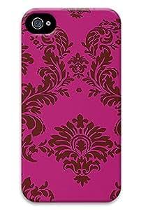 Online Designs Iridesent Fuchsia Brown PC Hard new iphone4s case cover