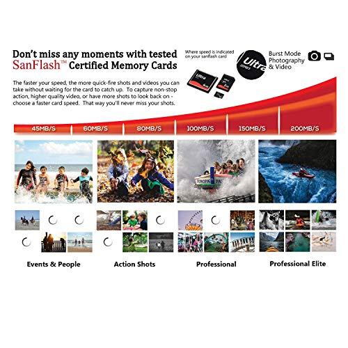 Professional Ultra SanDisk 16GB verified for ZTE Maven 3 MicroSDHC card with CUSTOM Hi-Speed, Lossless Format! Includes Standard SD Adapter. (UHS-1 A1 Class 10 Certified 98MB/s)
