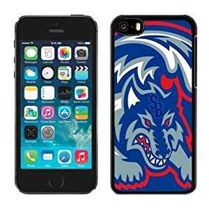 Customizable Apple Iphone 5c Cases Ncaa Colonial Athletic Association Stony Brook Seawolves Design Cell Phone Accessories Mate