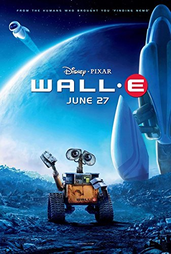 "Prague ""Wall E"" Movie Poster 24X36 Inches 2008"