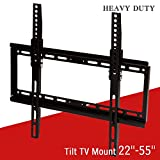 beautifulwoman Flat tilt tv Wall Mount LCD led Plasma Bracket 22 27 32 37 40 42 46 47 50 55