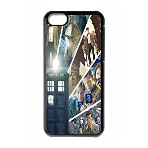 Custom High Quality WUCHAOGUI Phone case Doctor Who - Police Box Pattern Protective Case For Iphone 4/4s - Case-4