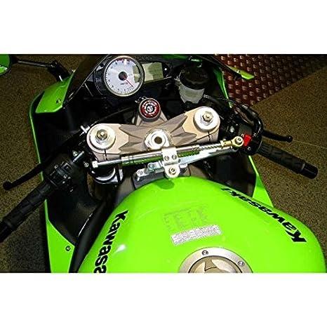 Amazon.com: Kawasaki zx6r-07/08-kit amortisseur de dirección ...