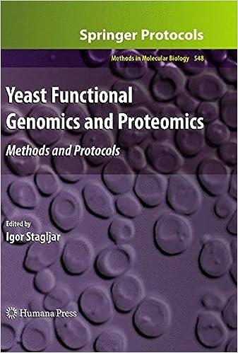 Yeast Functional Genomics and Proteomics (Methods in Molecular Biology)