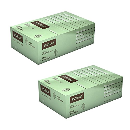 RXBAR Whole Food Protein Bar, Mint Chocolate, 1.83 Ounce ...