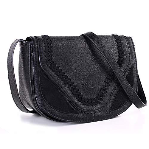 (Crossbody Bag for Women, Purses and Handbag Satchel with Traditional Hand-made Cover)