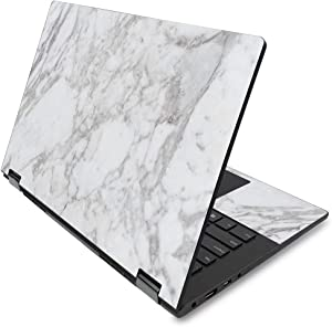 "MightySkins Skin for Lenovo Flex 14"" (2019 No Fingerprint Scanner) - Frost Marble 