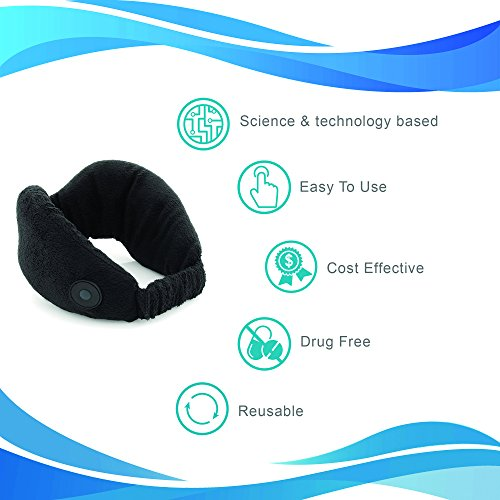 MotionCure – GURANTEED Motion Sickness, Nausea & Sea Sickness Relief - NEW & UNIQE Technology - Wristband, Patch, Drug & chemical FREE - Fast relief of symptoms such as nausea, dizziness and anxiety by SIDIS LABS (Image #3)