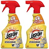 Easy Off Specialty Kitchen Degreaser Cleaner, 16 fl oz Bottle (Pack of 2)
