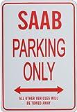 SAAB Parkplatz nur Zeichen