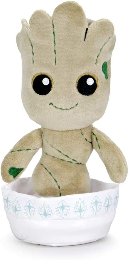 Kidrobot Marvel Potted Baby Groot Guardians of The Galaxy Phunny Plush
