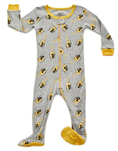 (Leveret Kids Helicopter Baby Boys Footed Pajamas Sleeper 100% Cotton (Size 12-18 Months) )
