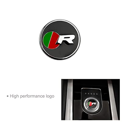 DEFTEN Car Interior Decoration Gear Shift Panel Frame Cover Trim Accessory for Jaguar XF XE XJ F-PACE(R Racing Models): Automotive