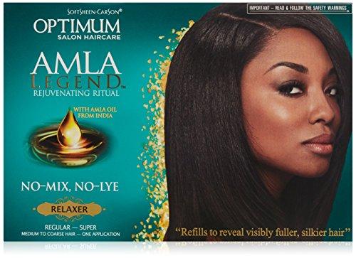 Softsheen Carson Optimum Amla Legend Relaxer Kit -