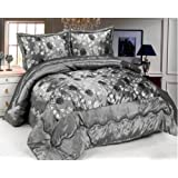 FELICE 3 Tlg. XL Moderne Doppelbett Bettgarnitur 230x250cm Tagesdecke mit Kissenbezug Bettüberwurf Bett Decke + Kissenbezüge # Patchwork+Kissen-Bezug 3 Teile SET