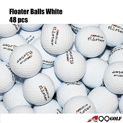 A99 Floating Golf Balls Floater Ball Float Water Range New (White 48 Balls/Pack)