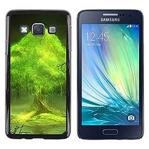 iKiki Tech / Estuche rígido - Trees world - Samsung Galaxy A3 SM-A300