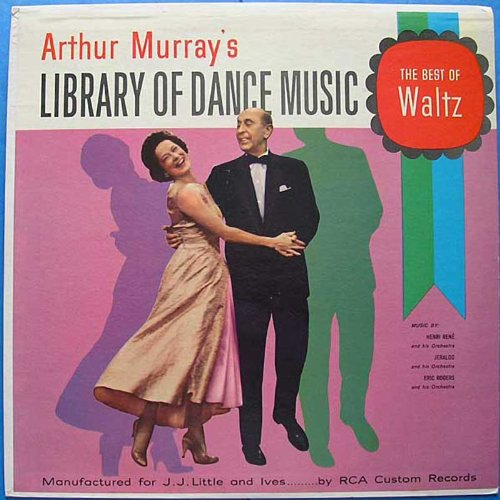 Price comparison product image Arthur Murray's Library of Dance Music The Best of the Waltz [Vinyl LP]