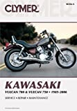 Kawasaki Vulcan 700 & Vulcan 750 1985-2006 (Clymer Manuals: Motorcycle Repair) by Penton Staff (2000-05-24)