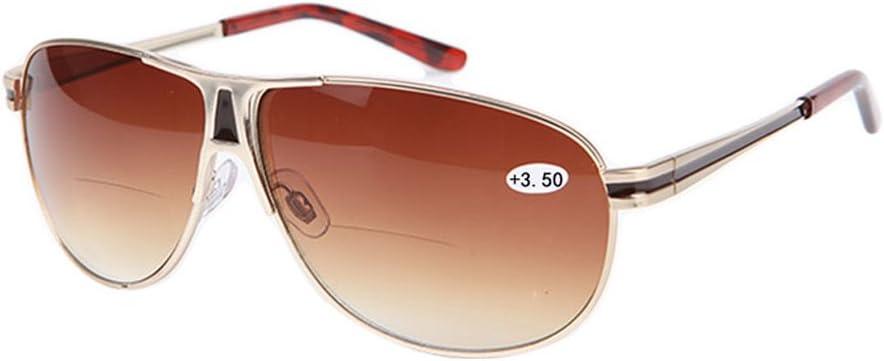 1.0 to+3.5 Unisex Sunglasses Yuxiale Vintage Classic Men Women Bifocals Reading Glasses