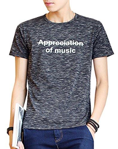 Tシャツ メンズ 半袖 吸汗速乾 汗染み防止 ウェットラウンドネック 夏 メンズ 英字 柄 夏tシャツ 春夏季対応トップスTX116