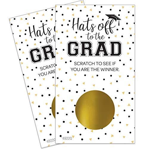 College Graduation Party Favors (Scratch Off Graduation Party Game - 28)