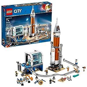 Lego City Space 60228 Razzo Spaziale e Centro di Controllo (837 Pezzi)  LEGO